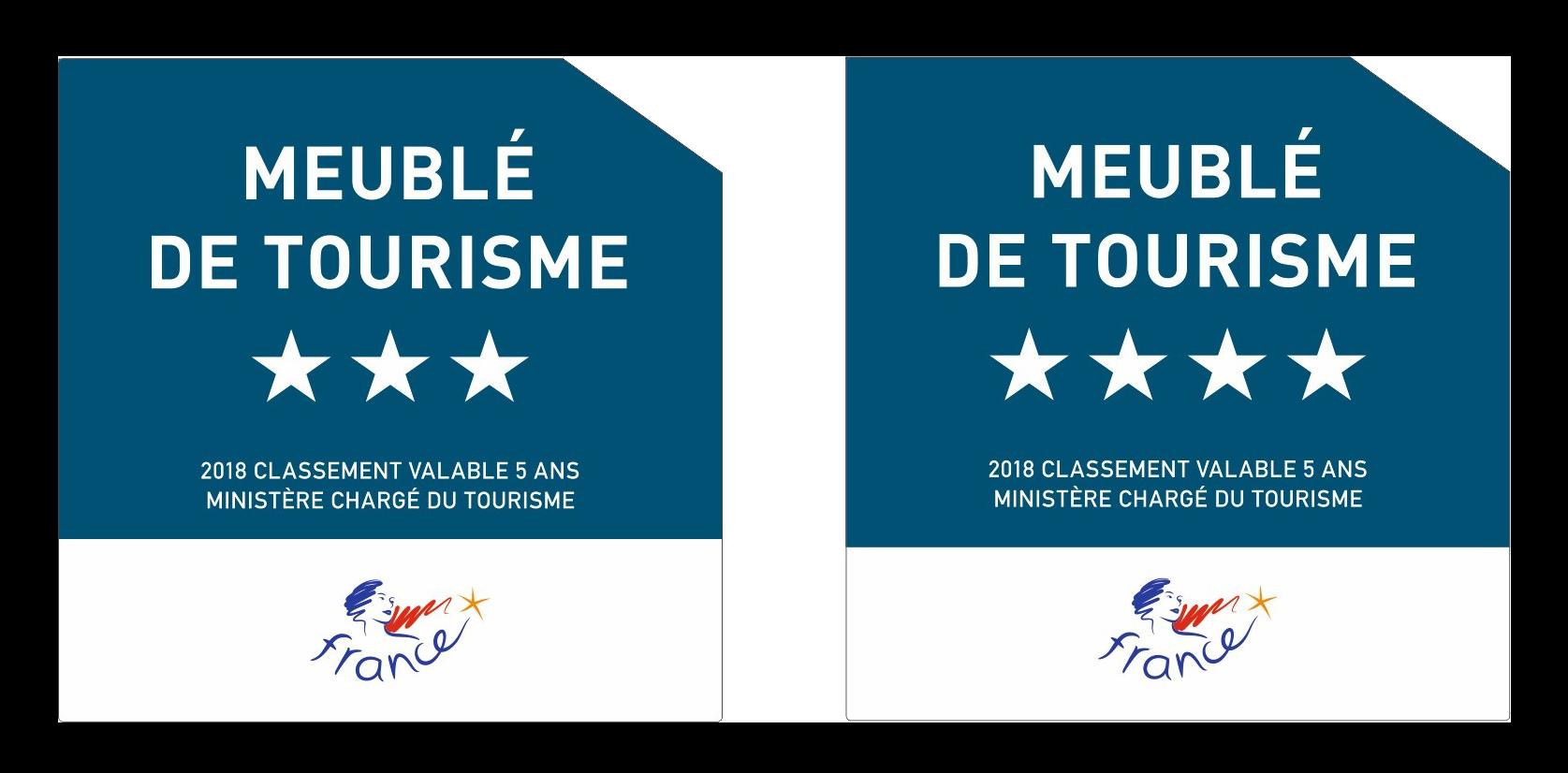 Location certifiée 3 étoiles, Meublé de tourisme